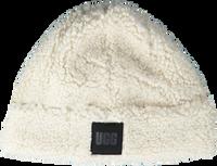 Witte UGG  Muts SHERPA CUFF  - medium