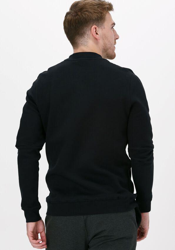 Zwarte GENTI Sweater J4000-3221 - larger