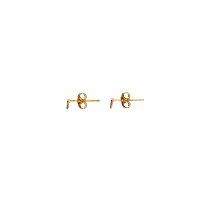 Gouden ATLITW STUDIO Oorbellen PETITE EARRINGS SQUARE - large