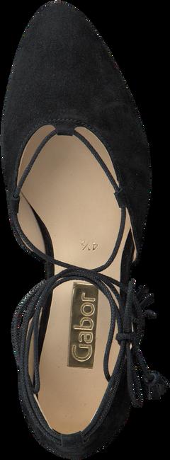 Zwarte GABOR Ballerina's 351  - large