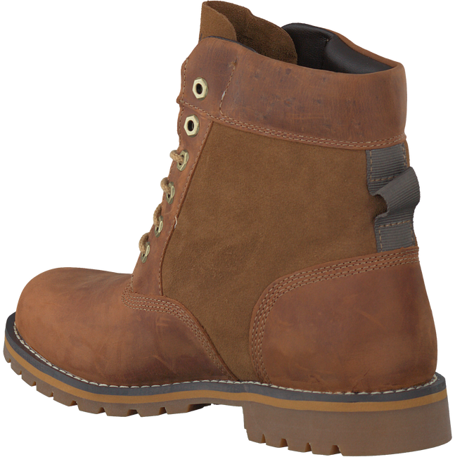 Cognac TIMBERLAND Enkelboots LARCHMONT 6IN WP BOOT  - large