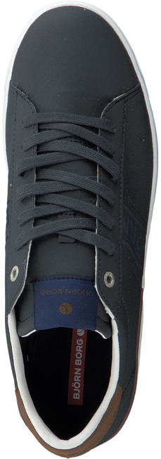 Blauwe BJORN BORG Sneakers T100 LOW NUB  - large