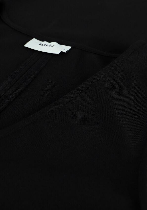 Zwarte MOVES Mini jurk SISATTA  - larger
