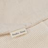 Witte STUDIO NOOS Shopper RIB MOM-BAG  - small