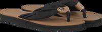 Zwarte TOMMY HILFIGER Slippers BEACH SANDAL  - medium