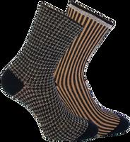 Zwarte MARCMARCS Sokken BEAU COTTON 2-PACK - medium