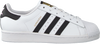 Witte ADIDAS Sneakers SUPERSTAR W  - small