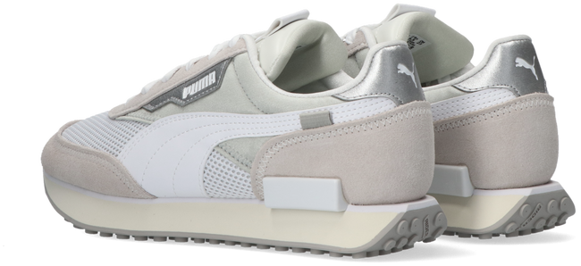 Beige PUMA Lage sneakers FUTURE RIDER METAL WN'S - large