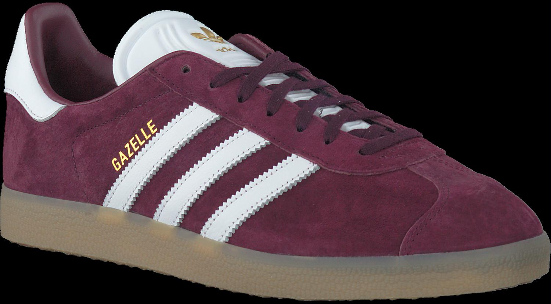 Rode ADIDAS Sneakers GAZELLE HEREN   Omoda