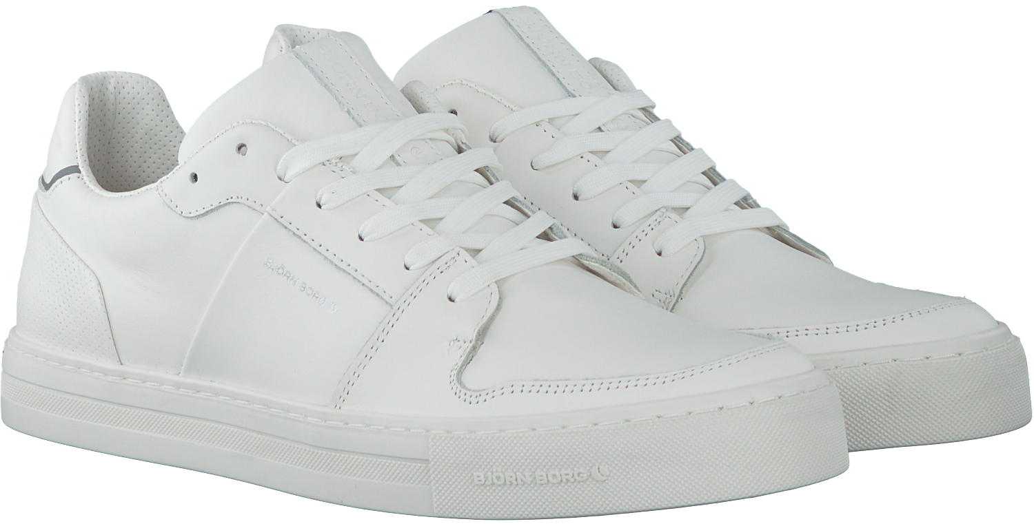 b0034578135 Witte BJORN BORG Sneakers MONTANA - large. Next