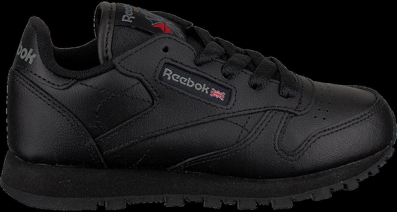 Zwarte REEBOK Sneakers CLASSIC LEATHER KIDS Omoda.nl