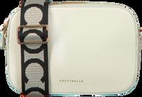 Witte COCCINELLE Schoudertas TEBE  - medium