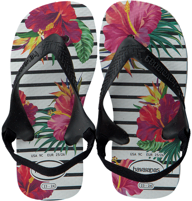 Witte HAVAIANAS Slippers BABY CHIC II  - large