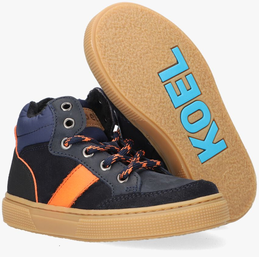 Blauwe KOEL4KIDS Hoge sneaker 03M012  - larger