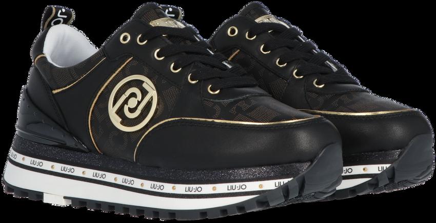 Zwarte LIU JO Lage sneakers LIUJO MAXI WONDER 19  - larger