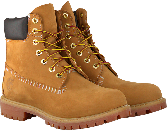 Camel TIMBERLAND Veterboots 6IN PREMIUM BOOT HEREN - large