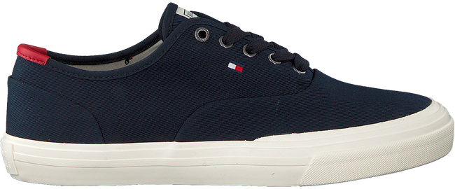 Blauwe TOMMY HILFIGER Lage sneakers CORE OXFORD TWILL