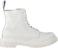 Witte DR MARTENS Veterboots 1460 PASCAL MONO K  - medium