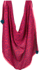 Roze LE BIG Sjaal PETRA SCARF  - small