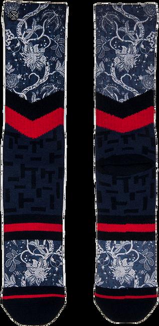 Blauwe XPOOOS Sokken EAST WEST - large