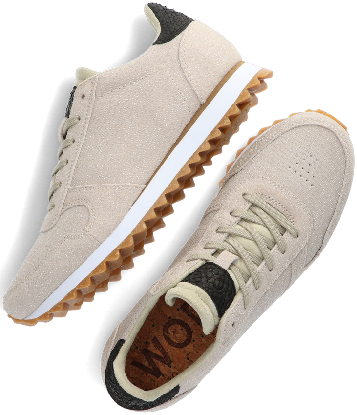 Beige WODEN Lage sneakers YDUN PEARL II  - larger