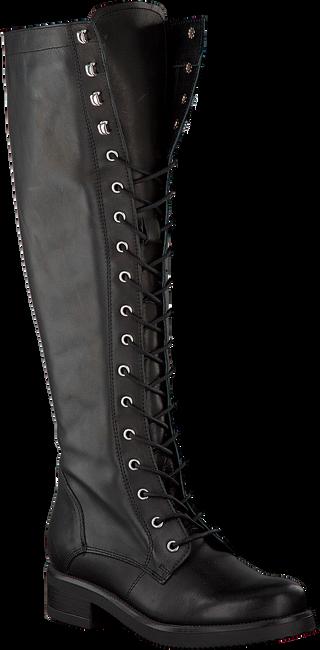 Zwarte PS POELMAN Lange laarzen R14065  - large