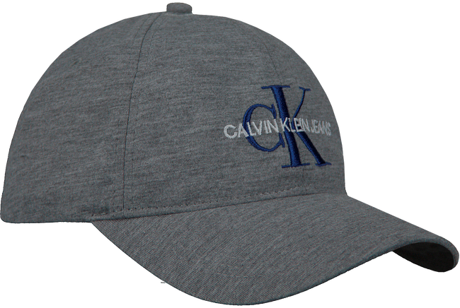 Grijze CALVIN KLEIN Pet J MONOGRAM CAP M  - large
