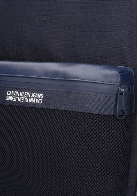 Blauwe CALVIN KLEIN Rugtas GRID CAMPUS  - large