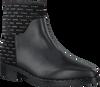 Zwarte ELVIO ZANON Enkellaarsjes 5202  - small