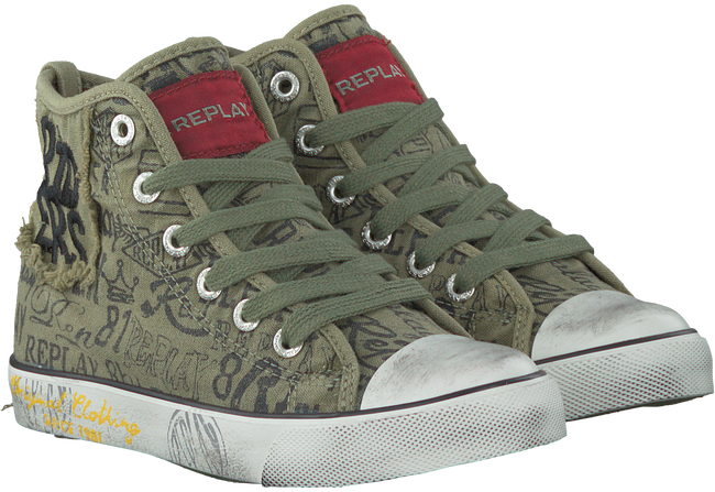 Groene REPLAY Sneakers KING GEORGE  - large