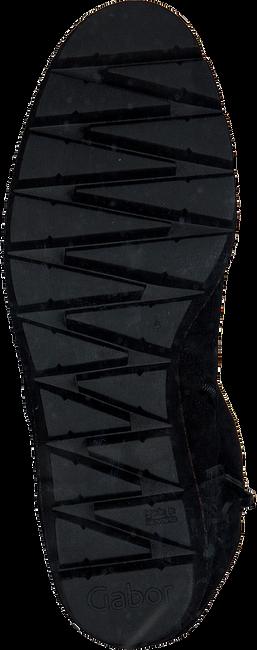Zwarte GABOR Enkellaarzen 781.1  - large