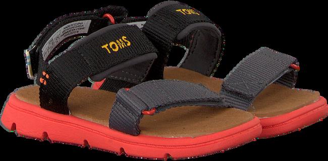 Zwarte TOMS Sandalen RAY  - large