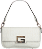 Witte GUESS Schoudertas BRIGHTSIDE SHOULDER BAG  - small