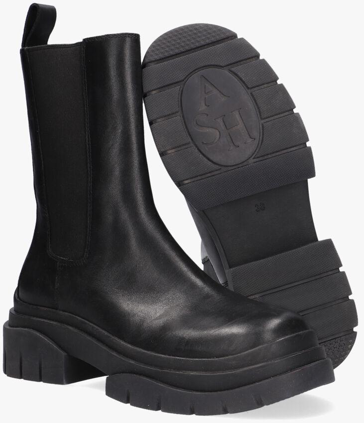 Zwarte ASH Chelsea boots STORM  - larger
