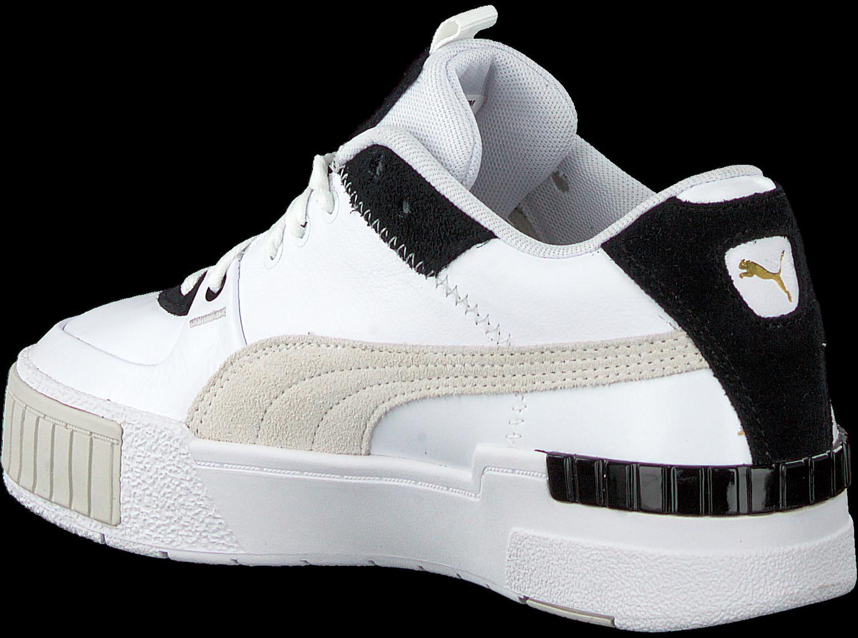 Witte PUMA Lage sneakers CALI SPORT MIX WN'S Omoda.nl