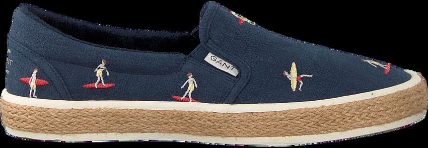 Blauwe GANT Slip-on Sneakers FRESNO - larger