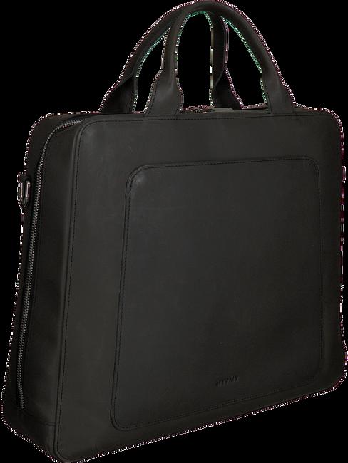 Zwarte MYOMY Laptoptas MY LOCKER BAG BUSINESS  - large