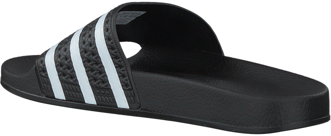 Zwarte ADIDAS Slippers ADILETTE MEN - large
