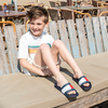 Blauwe TOMMY HILFIGER Slippers POOL SLIDE  - small
