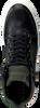 Zwarte BJORN BORG Sneakers MONTANA MID PULL M  - small