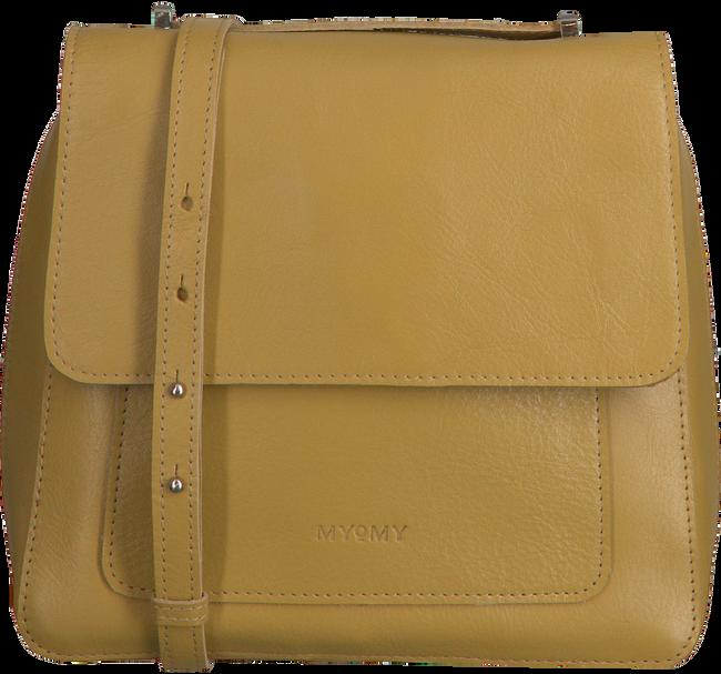 Gele MYOMY Schoudertas MY BOXY BAG LOCKER - large