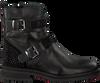 Zwarte HIP Biker boots H1847  - small
