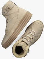 Beige TOMMY HILFIGER Hoge sneaker WARMLINED LACE UP BOOT  - medium
