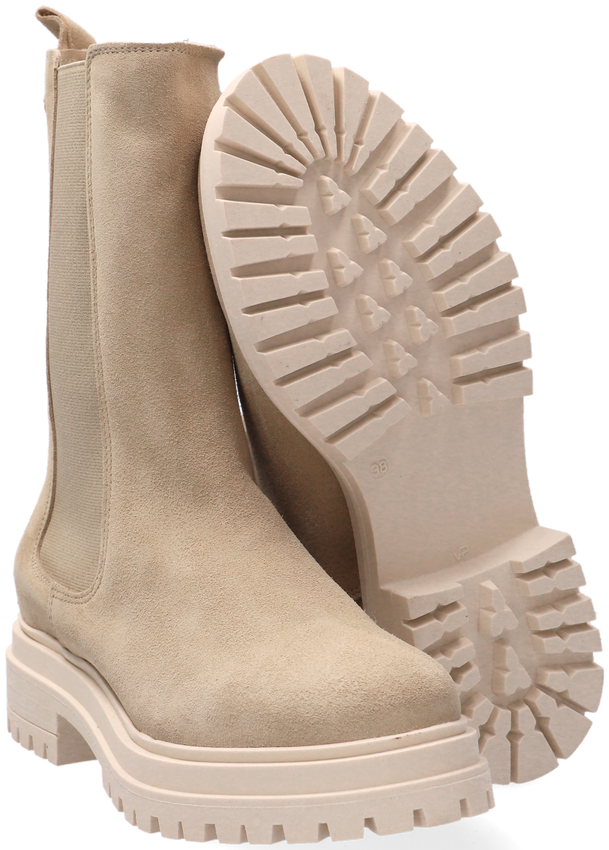 Beige RED-RAG Chelsea boots 71128  - larger
