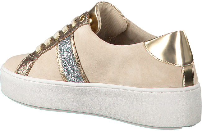 Beige MICHAEL KORS Sneakers POPPY STRIPE LACE UP  - large