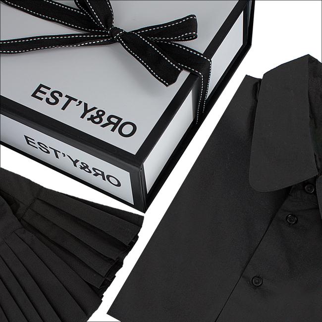 Zwarte EST'Y&RO Kraagje EST'50 - large
