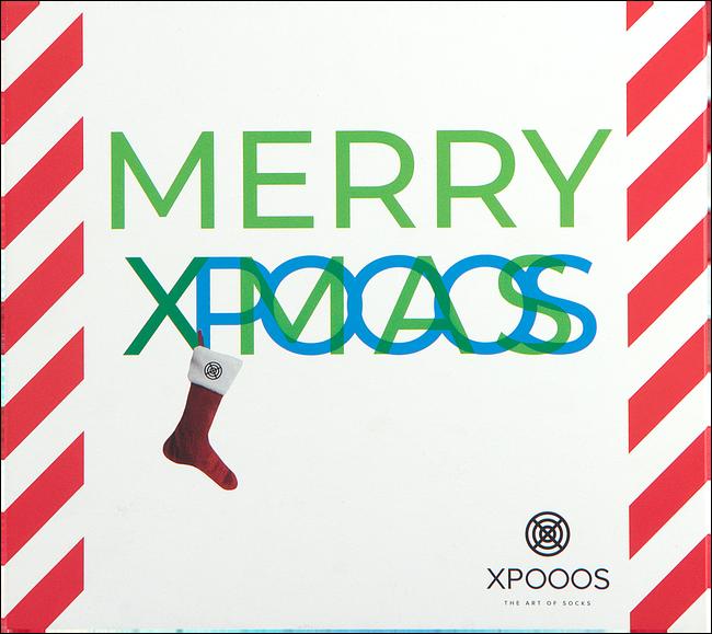 Multi XPOOOS Sokken XMAS GIFTBOX 60171 & 60173  - large