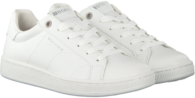 Witte BJORN BORG Sneakers T305 LOW CLS W - large