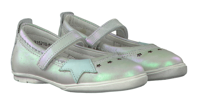 Witte TWINS Ballerina's 315210  - large
