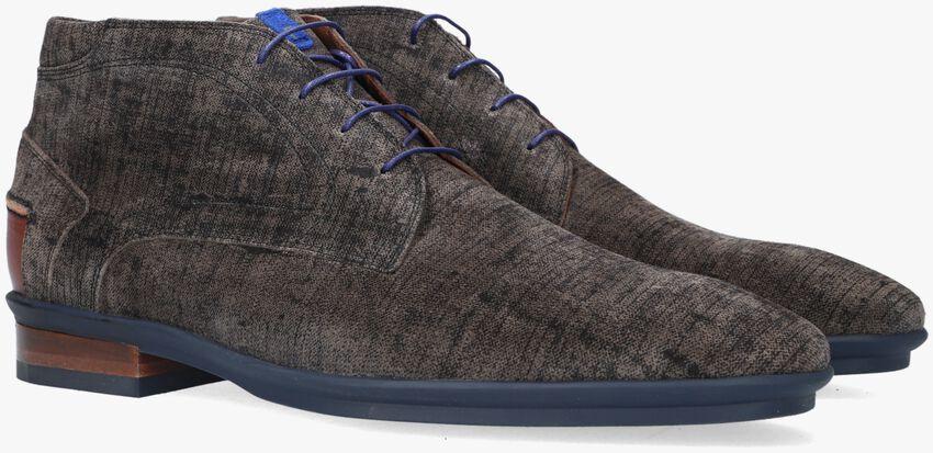Grijze FLORIS VAN BOMMEL Nette schoenen 20240  - larger